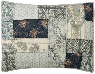 Pottery Barn Delaney Handcrafted Patchwork Cotton Quilted Shams
