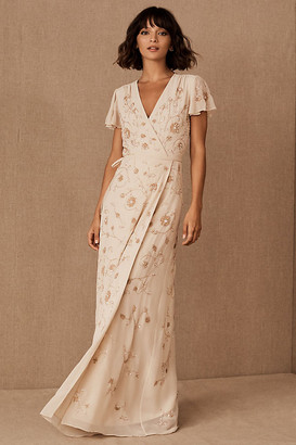 BHLDN Plymouth Dress By in Beige Size 0