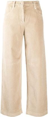 Incotex Corduroy Wide-Leg Trousers