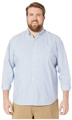 Dockers Long Sleeve Signature Comfort Flex Shirt (Mateo Delft) Men's Clothing