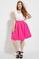 Forever 21 FOREVER 21+ Plus Size Pleated Skirt