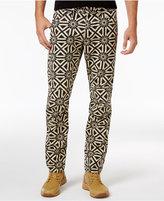 G Star Men's Elwood X25 Persian Geometric Print Jeans
