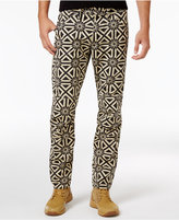 G Star Men's Slim-Fit Elwood X25 Persian Geometric Print Pharrell Jeans