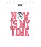 Diesel White Now Is The Time Tee