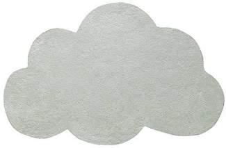 Green Cotton Lilipinso Cloud Carpet - cotton | green - Green/Green