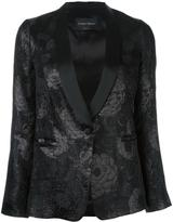 Christian Pellizzari floral jacquard blazer
