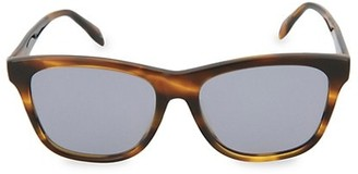 Alexander McQueen 54MM Square Sunglasses