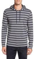 Lacoste Men's Stripe Long Sleeve Hooded T-Shirt