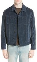 Marni Men's Washed Velvet Trucker Jacket