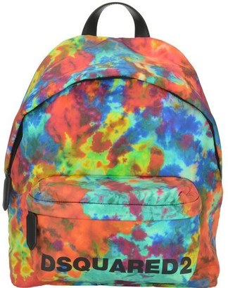 DSQUARED2 Tie-Dye Logo Print Backpack