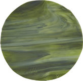 Luesma & Vega Muna Marbleized Glass Dinner Plate