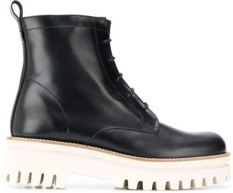 Paloma Barceló Anine ridged-sole ankle boots