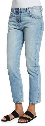The Row Ashland Slim-Leg Ankle Jeans