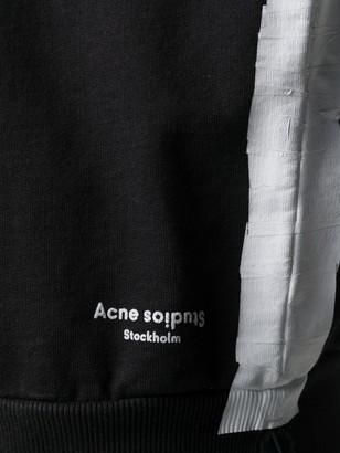 Acne Studios Tape Detail Logo Hoodie