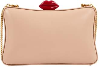 Lulu Guinness Pink Leather Clutch bags