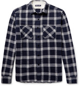 Alex Mill Checked Brushed-Cotton Flannel Shirt