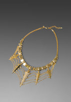Belle Noel Glam Rock Webbed Necklace