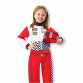 Melissa & Doug 3-Pc. Race Car Driver Dress Up Costume