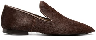 Lemaire Fur-Trimmed Loafers