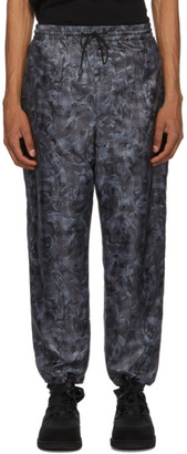 Woolrich Grey North Hollywood Edition Camouflage Track Pants