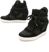 Ash Cool Wedge Sneakers with Mesh Insets