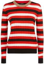 SET Striped Sweater