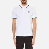McQ by Alexander McQueen Men's Logo Polo Shirt Optic