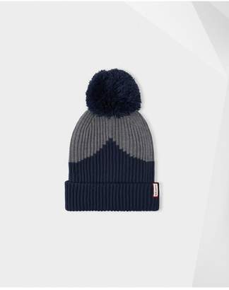 Hunter Moustache Bobble Hat