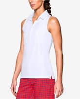 Under Armour Zinger UPF +30 Sleeveless Golf Polo