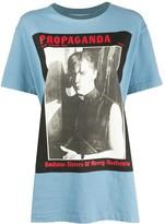 Acne Studios magazine-print T-shirt