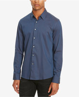 Kenneth Cole Reaction Men's Slim-Fit Neat Long-Sleeve Shirt