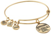 Alex and Ani Charity by Design Because I am a Girl Charm Bangle
