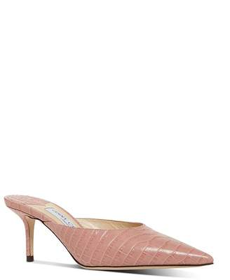 Jimmy Choo Women's Rav 65 Kitten Heel Mules