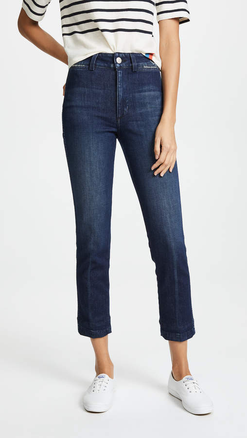 Amo Audrey High Rise Cigarette Jeans