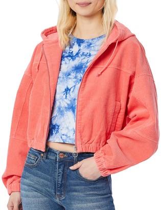 UNIONBAY Juniors' Corduroy Hooded Jacket