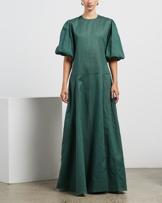 MATIN Pleat Full Sleeve Dress
