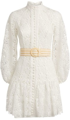 Zimmermann Lace Empire Dress