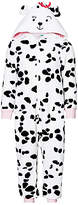 John Lewis Children's All-Over Dalmatian Print Onesie, White