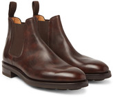 John Lobb - Lawry Water-resistant Burnished-leather Chelsea Boots