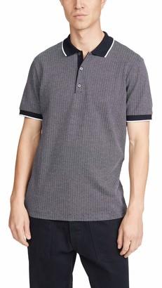 Theory Men's Geo Jacquard Polo Shirt