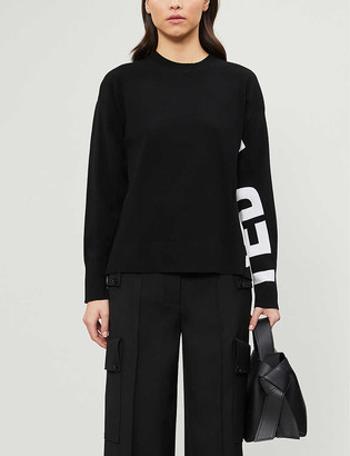 Ted Baker Branded stretch-knit jumper