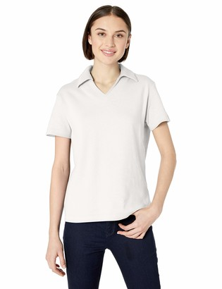Clementine UltraClubs Women's ULTC-8507-Egyptian Interlock V-Neck Polo