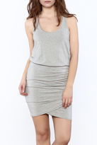 Tart Collections Gray Surplice Dress