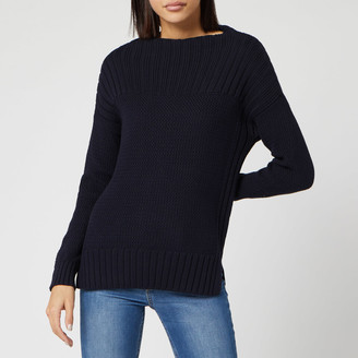 Barbour Women's Stitch Guernsey Knitted Jumper