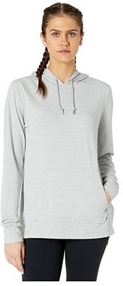 Nike Yoga Cover-Up (Light Smoke Grey/Heather/Platinum Tint) Women's Clothing