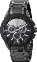 Versace Men's M8C60D008 S060 Character Black Ion-Plated Stainless Steel Chronograph Watch