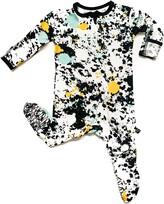 Peregrine Kidswear Paint Splatter Fitted One-Piece Pajamas