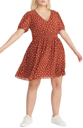 Madewell Smocked Waist Minidress (Regular & Plus Size)