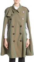 Burberry Women's Allensford Raglan Trench Cape