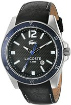 Lacoste Men's 2010751-SEATTLE Black 2 Watch